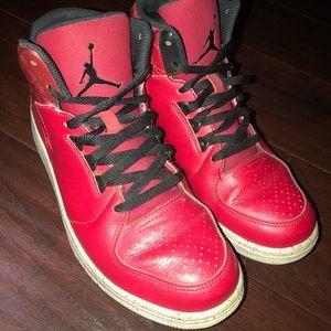 Nike Air Jordan 1 Flight 3 Men's Hi-Top Red Size 9